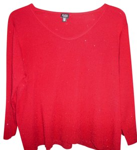 Eileen Fisher Plus Size Holiday Sequin Night Out Sweater