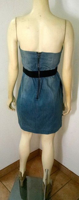 A|X Armani Exchange short dress Denim Size 6 P1572 on Tradesy
