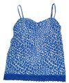 Aerie Camisole Top Blue & White Bubbles