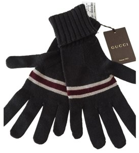 Gucci Gucci GL Ipong Gloves Striped