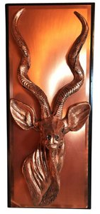 Other African Blackbuck Artwork; Faux Copper [ SisterSoul Closet ]
