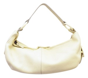 DKNY Vanilla Leather Pink Hobo Bag