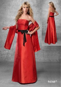 Venus Bridal Red / Black Bella Maids 943607 Dress