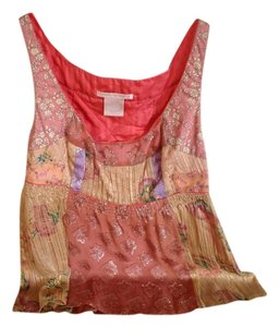 Rebecca Taylor Top Pink Multi