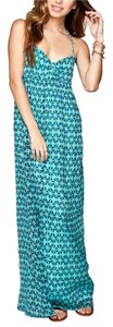 green and blue Maxi Dress by Roxy Summer Maxi