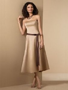 Alfred Angelo Harvest Gold / Espresso Style 6462 Dress