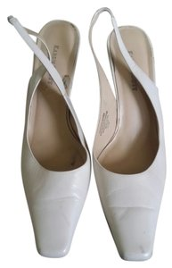 Karen Scott Off white sling back Mules