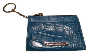 Henri Bendel Henri Bendel Teal Key/Credit Card Wallet