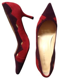 Audrey Brooke Red purple Pumps