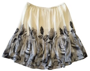 Elle Skirt Black, Ivory, and Grey