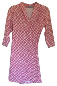 J.McLaughlin short dress Pink & White on Tradesy