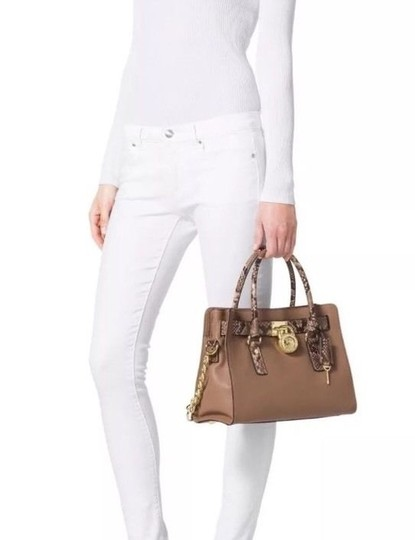 Michael Kors Next Day Shipping Satchel in Dark Khaki