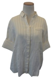 & Other Stories Button Down Shirt white