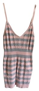 BCBGMAXAZRIA Top Pink/Grey