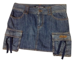 DKNY Skirt Denim blue