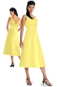 Alexia Designs Yellow Style 500 Dress