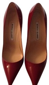 Manolo Blahnik Bb Deep red Pumps
