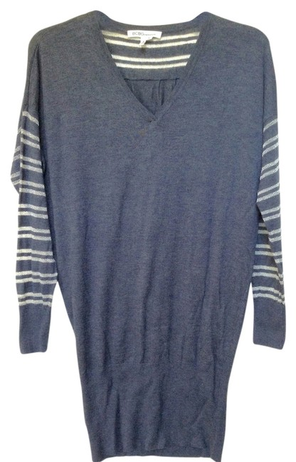 BCBGeneration Top Gray And Silver