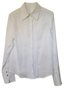 Divine wear Button Down Shirt White