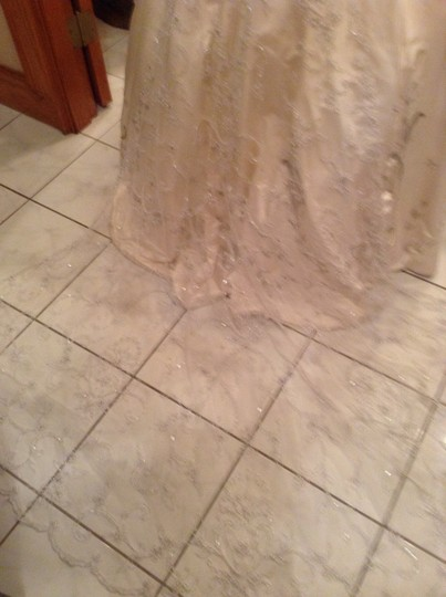 Lace Sash With Attach Wedding Dress Train One Of A Kind