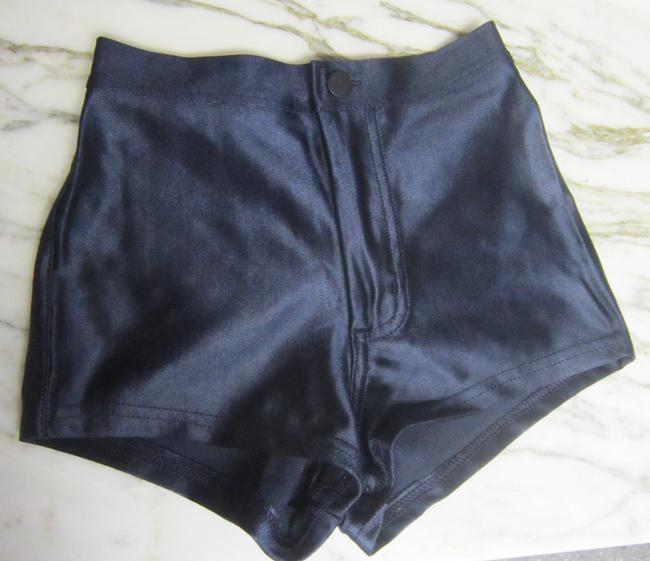 American Apparel Disco Hotpants Shorts Blue