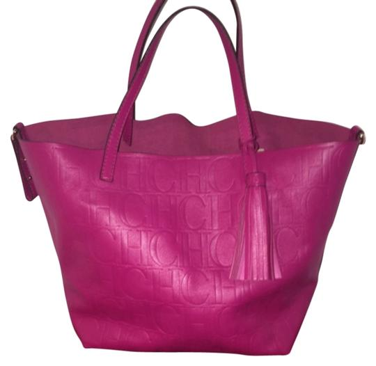 Preload https://item3.tradesy.com/images/pink-leather-tote-5184397-0-0.jpg?width=440&height=440