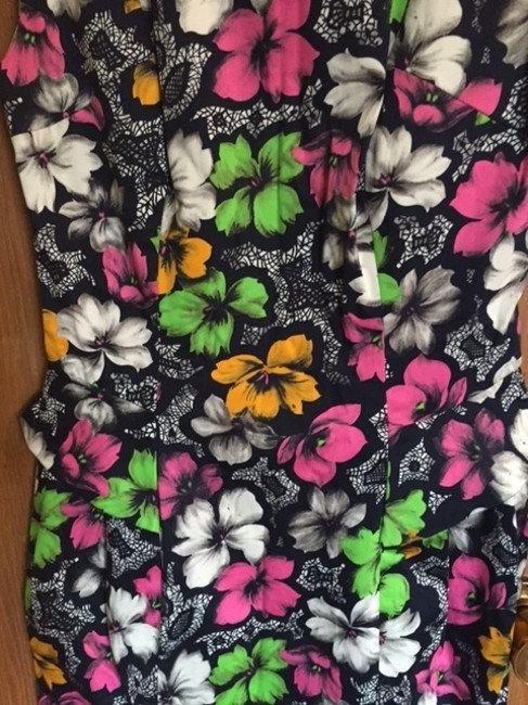 French Connection short dress Multi Color Floral Print Short Small on Tradesy