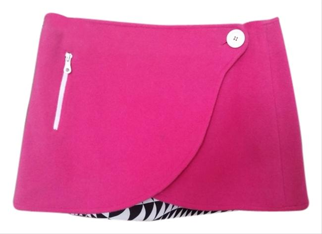 Compagngia Italiana Mini Skirt Hot Pink