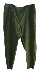 Elizabeth and James Boyfriend Pants green