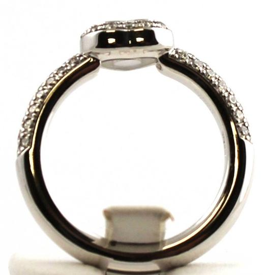 Chopard Chopped Happy Diamond Ring 18K White Gold Box and Papers