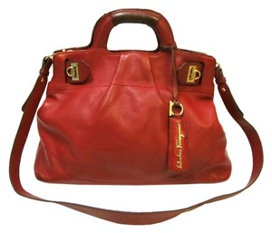 Salvatore Ferragamo Satchel in Red