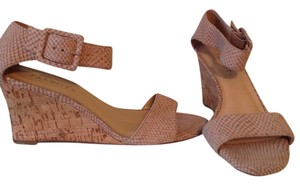 Talbots Nude Wedges