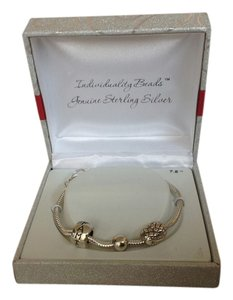 Other Individuality Beads Genuine Sterling Silver Bracelet
