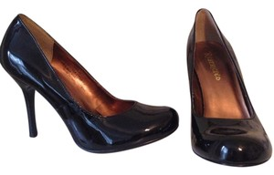 Restricted Patten Black Pumps