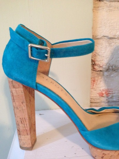 Talbots Turquoise Sandals