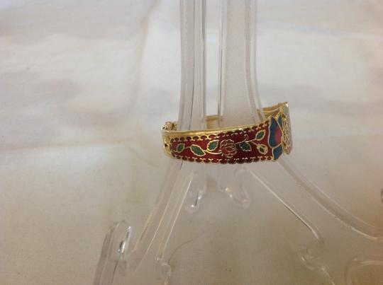 Other Gold Plated Multi Red Bracelet