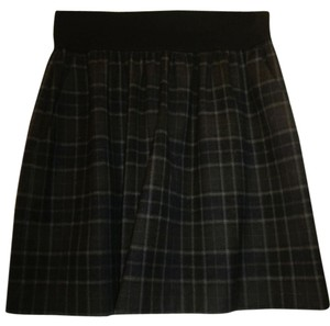 Theory Skirt Black & Gray Multi