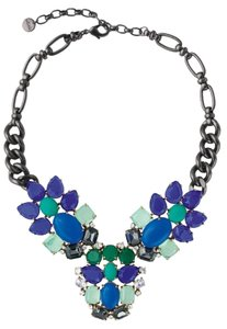 Stella & Dot PEACOCK NECKLACE N381GR