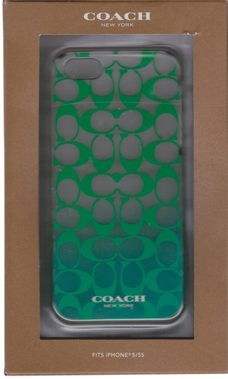 Coach Coach Hardshell Jade Peyton Ombre Case Cover iPhone 5/5S