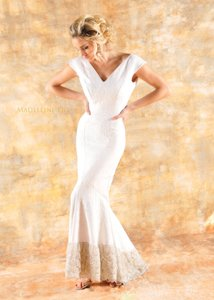 Madeleine Fig Abi Wedding Dress