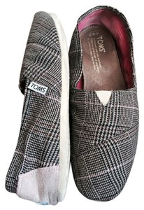 TOMS Orchid Preppy Plaid Flats