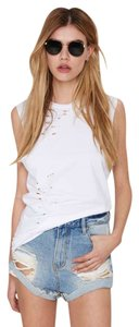 Somedays Lovin Cut Offs Distressed Denim Shorts-Distressed