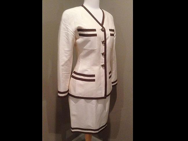 Chanel Authentic CHANEL Silk Skirt Suit