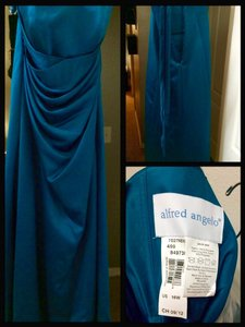 Alfred Angelo Teal 7027 Dress