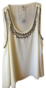 Losangeles Sheer Top Beige