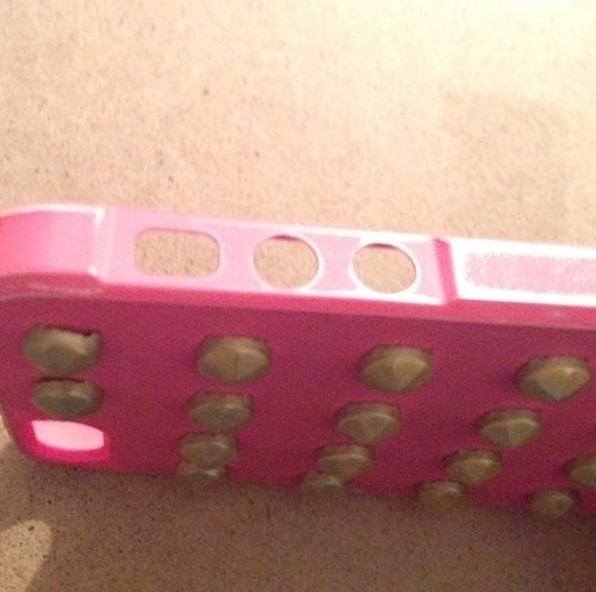 shine 32 Pink Studded iPhone 5/5s case