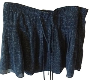 American Eagle Outfitters Mini Skirt Blue