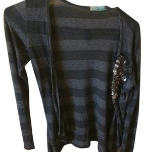 Other Sequin Striped Cardigan