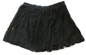 DEB Lace Mini Skirt Black
