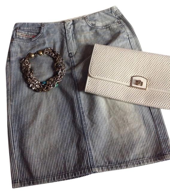 Diesel Vintage Denim Pencil Fit Skirt